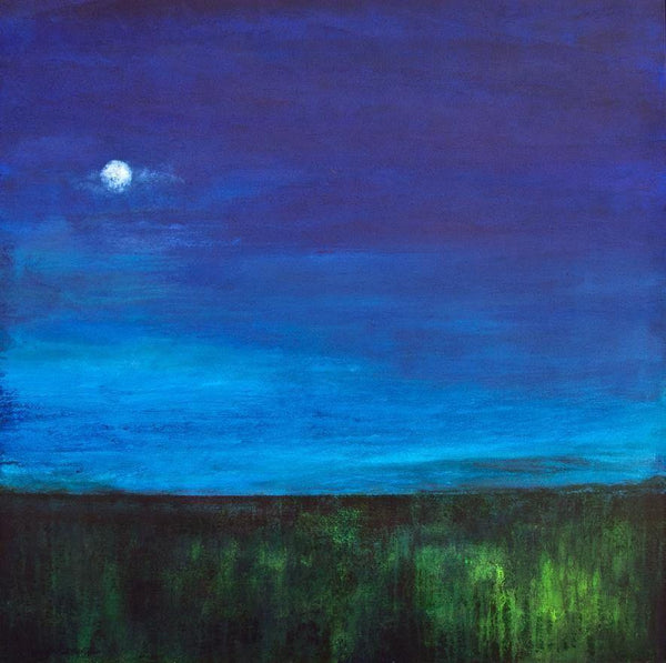 "Landscape Canvas Print - ""In the Moonlight"""