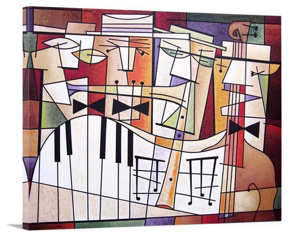 "Music Art Print on Canvas - ""Quartet"