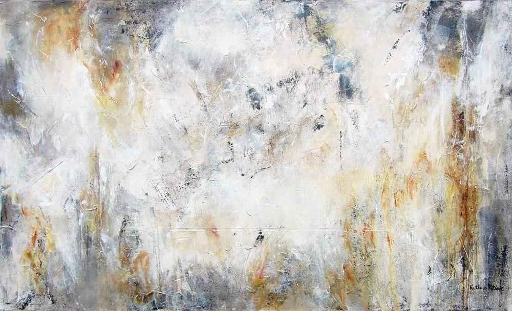 neutral abstract painting