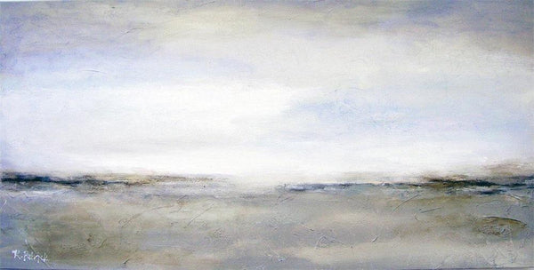 Neutral Contemporary Landscape Art Painting Print