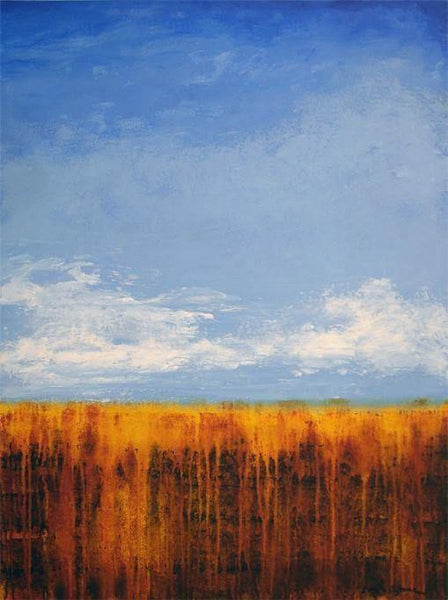 """A Sunny Day"" Landscape Painting"
