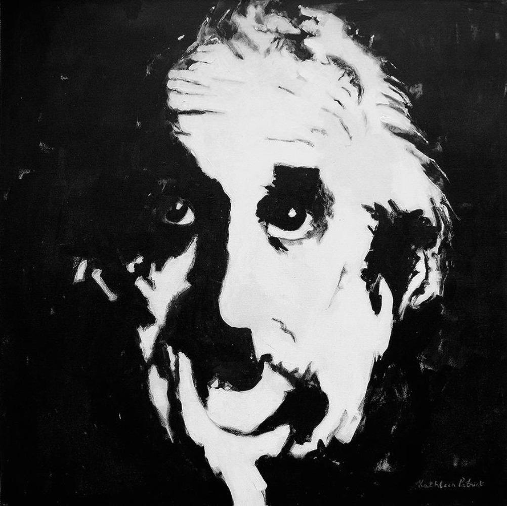 "Albert Einstein Canvas Wrap Print - ""Einstein"""