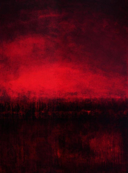 "Red Abstract Art Print - ""Red Dream"""