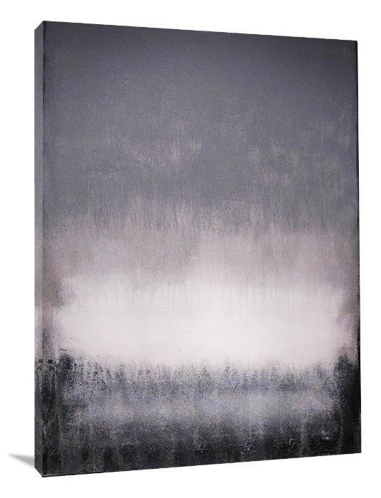 "Abstract Art Painting Print - ""In the Mist"""