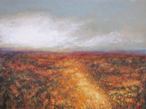 "Contemporary Landscape Print on Canvas- ""Early Morning"""