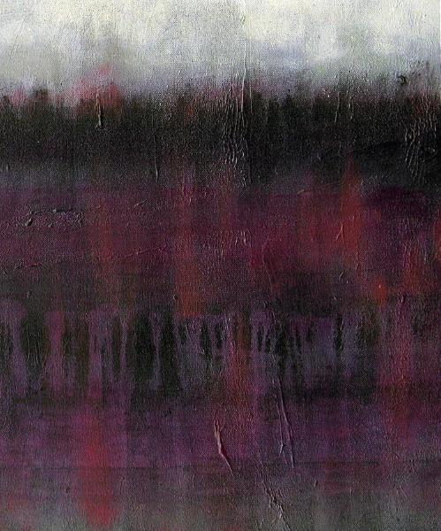 "Abstract Landscape Painting Print - ""In the Quiet of Now"""
