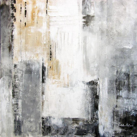 Abstract cityscape in neutral colors