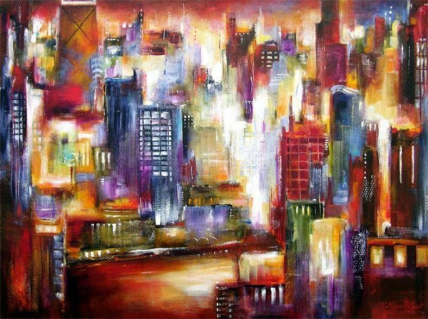 Painting of  Chicago