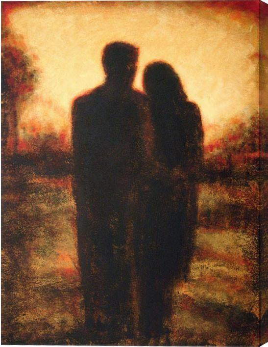 Romantic Couple Painting