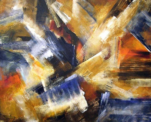 Abstract Painting Elemental Forces