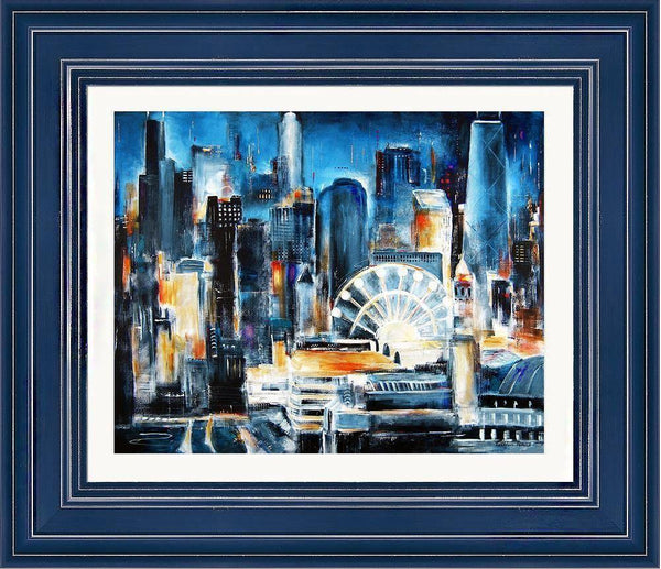 Framed Print - Navy Pier - Chicago