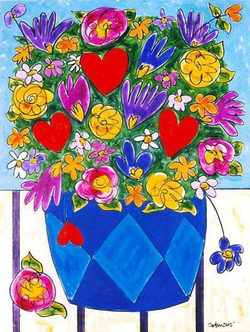 "Art Print - ""A Crazy Kinda Love - Bouquet"""