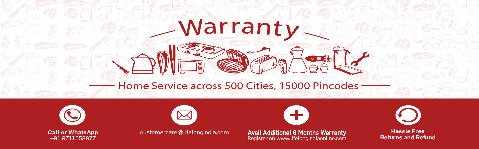 Lifelong Warranty