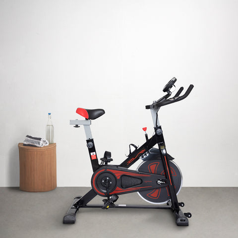 LLF45 Fit Pro Spin Exercise Bike with 6Kg Flywheel and Adjustable Resistance for Cardio Workout, Weight loss & Strength Training At Home & Office