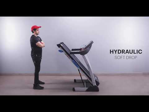 6HP FitPro Treadmill with 3 Level Manual Incline
