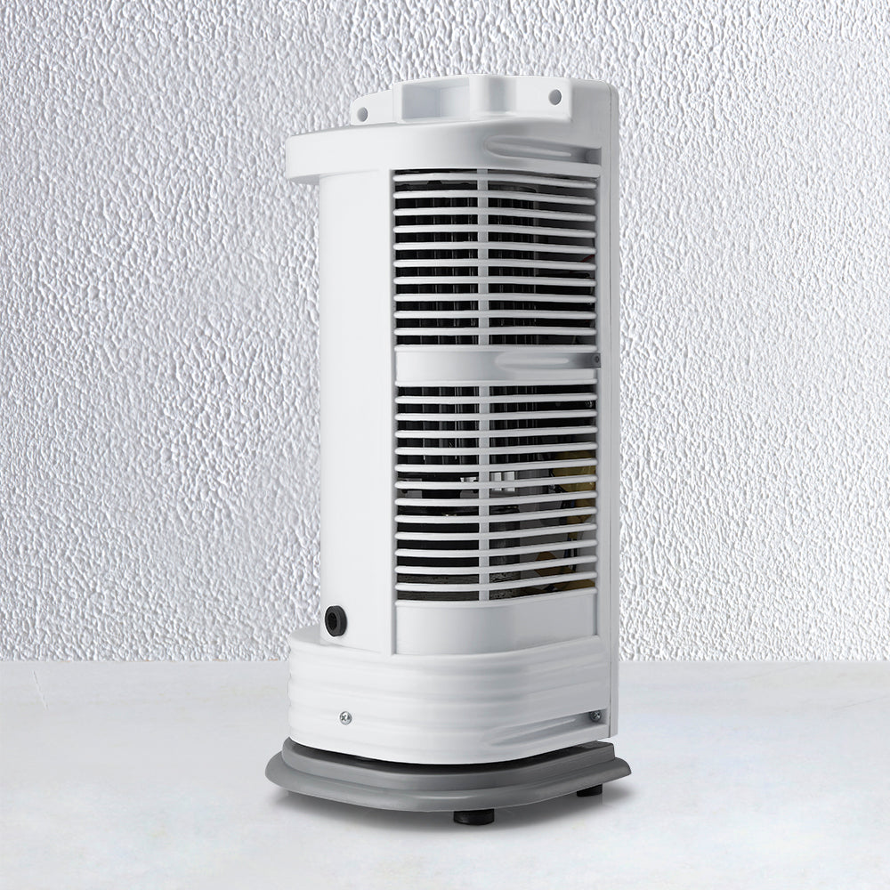 Portable Tower Fan with 90 Degree Rotating & Revolving Base