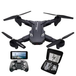 RC Drone with 50 Times Zoom WiFi FPV 4K /1080P Dual Camera Optical Flow Quadcopter Foldable Selfie Dron VS SG106 M70