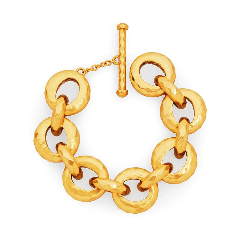 Julie Vos Gold Savannah Demi Link Bracelet