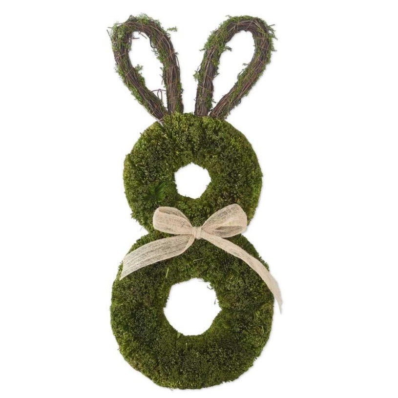 Mossy Rabbit Wreath