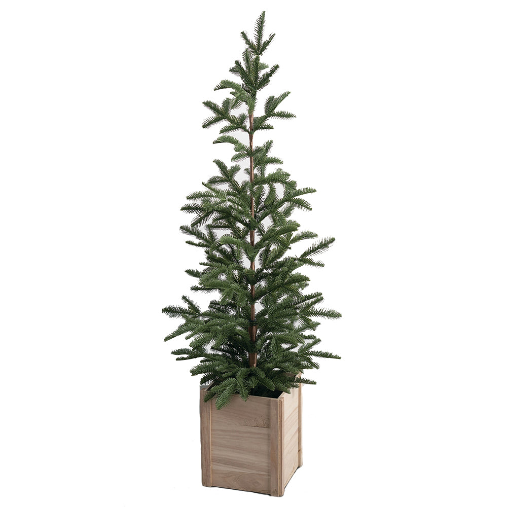 "4'9"" Faux Potted Tree"
