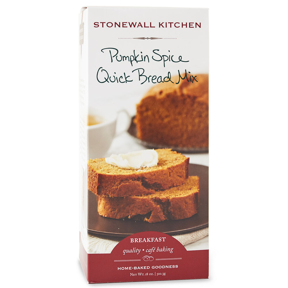 Pumpkin Spice Quick Bread