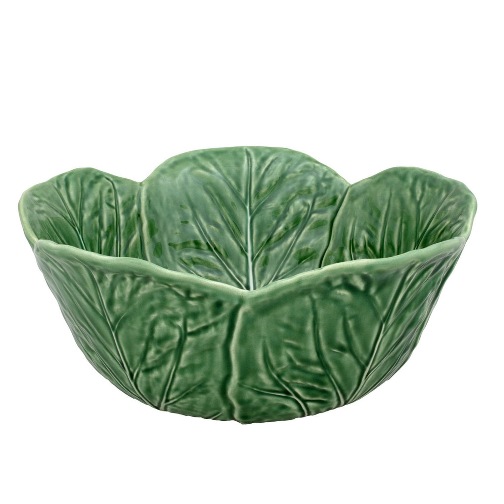 Bordallo Pinheiro Cabbage Serving Bowl