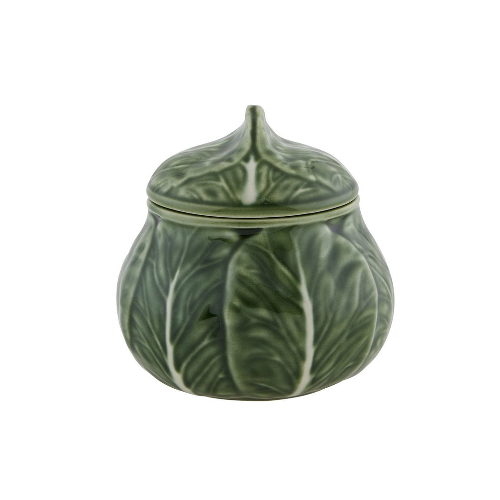 Bordallo Pinheiro Cabbage Sugar Box