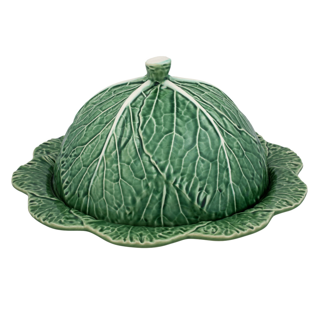 Bordallo Pinheiro Cabbage Cheese Tray