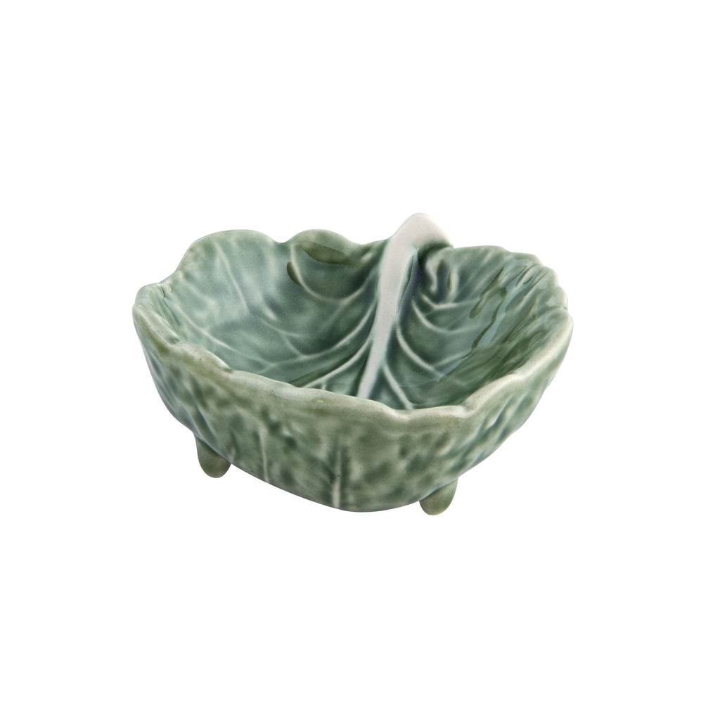Bordallo Pinheiro Cabbage Leaf Dipping Dish