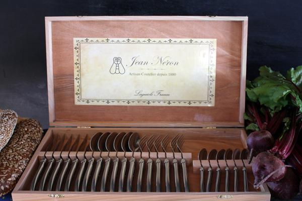 Laguiole Stainless Steel Flatware in Presentation Box