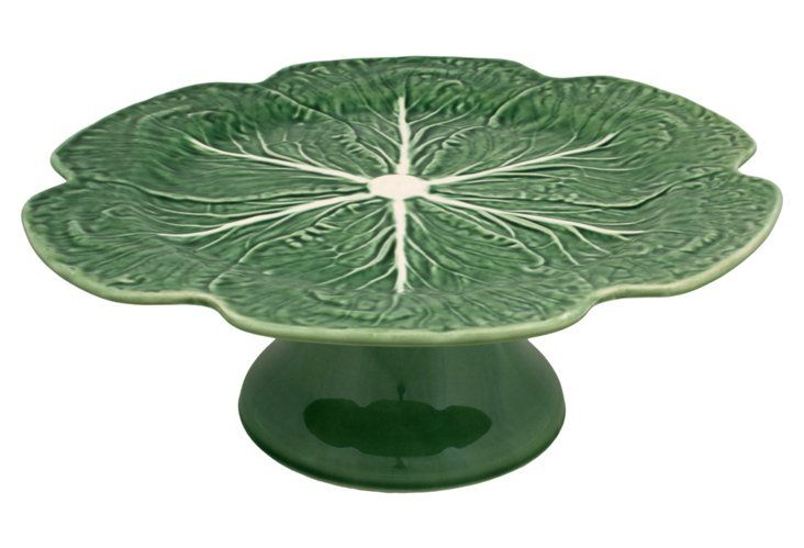 Cabbage Cake Stand