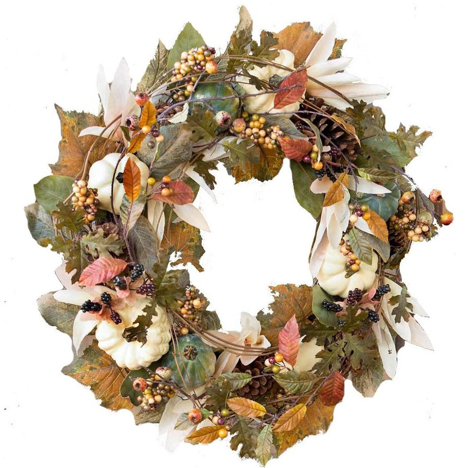 Autumn Moonlight Wreath