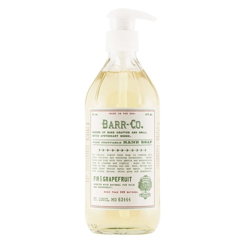 Barr Co Fir & Grapefruit Hand Soap