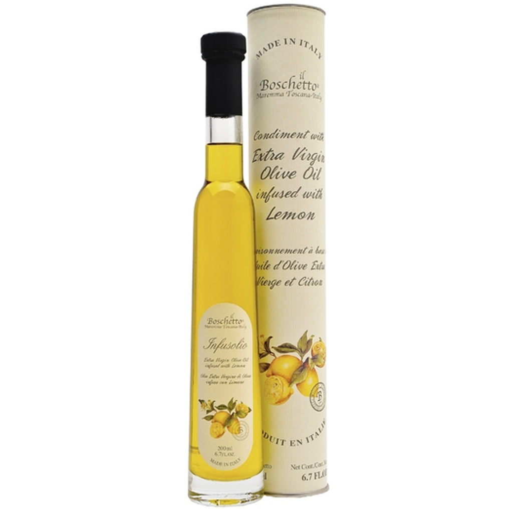 Boschetto Lemon Infused Extra Virgin Olive Oil