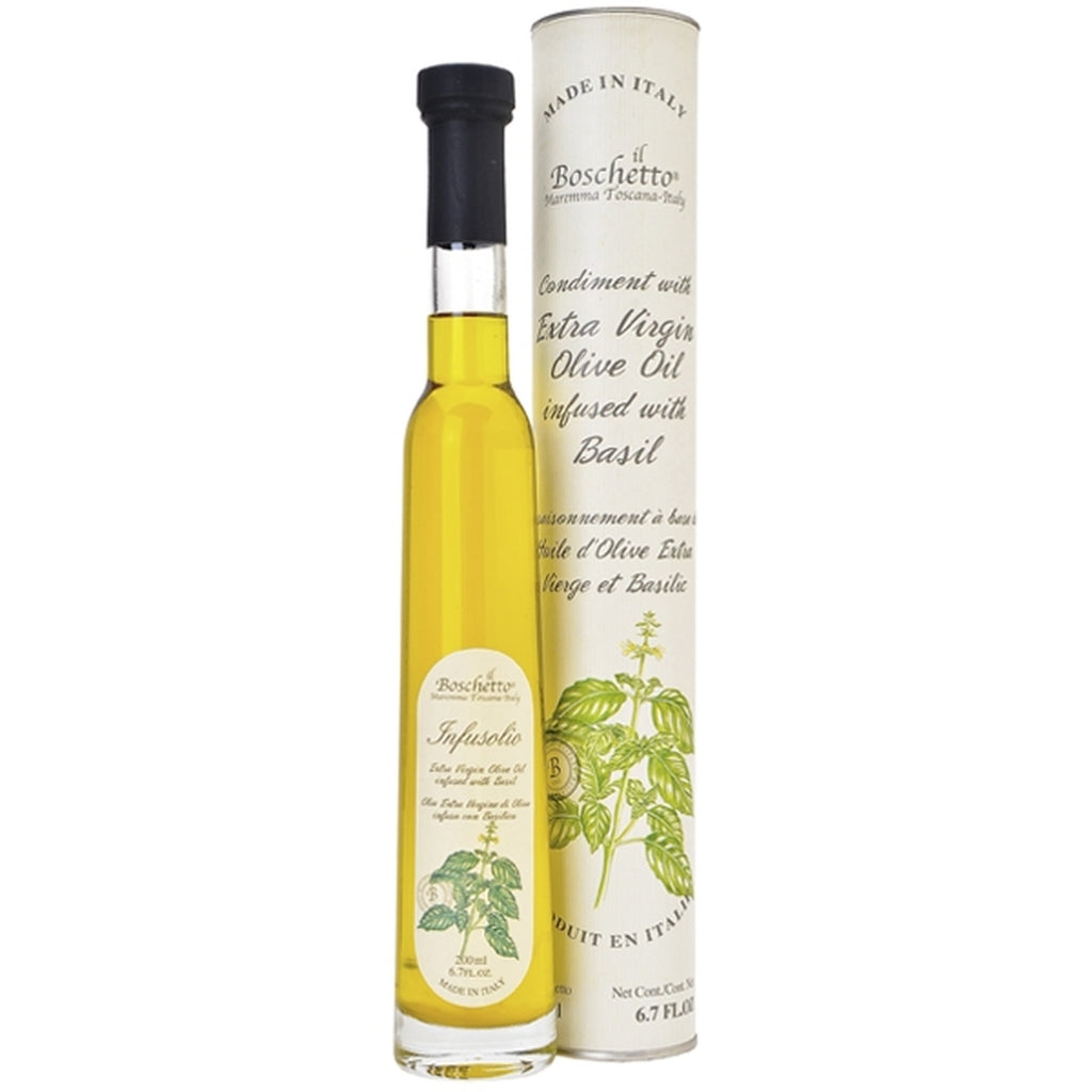 Boschetto Basil Infused Extra Virgin Olive Oil