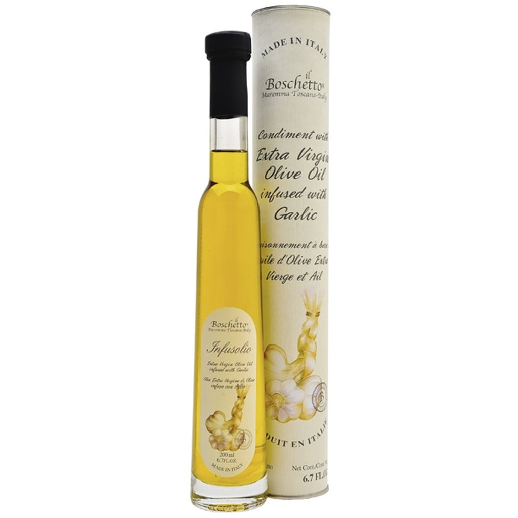 Boschetto Garlic Infused Extra Virgin Olive Oil