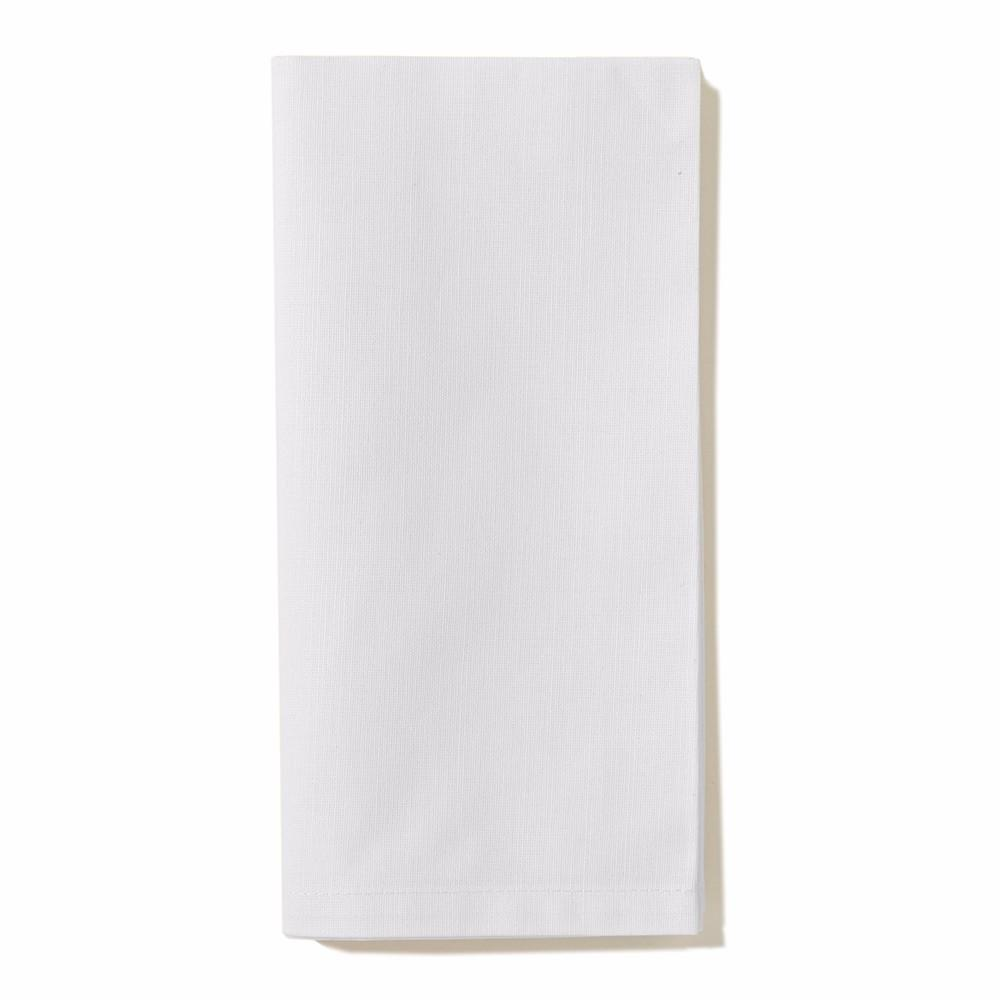 "Brussels 20"" Napkin, White"