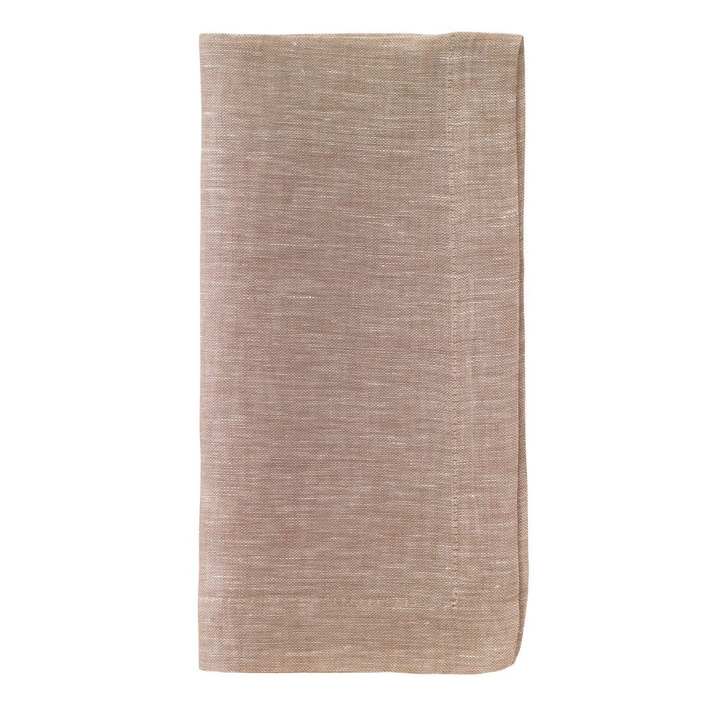 Chambray Beige Dinner Napkin