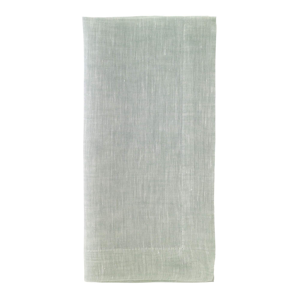 Chambray Mint Dinner Napkin