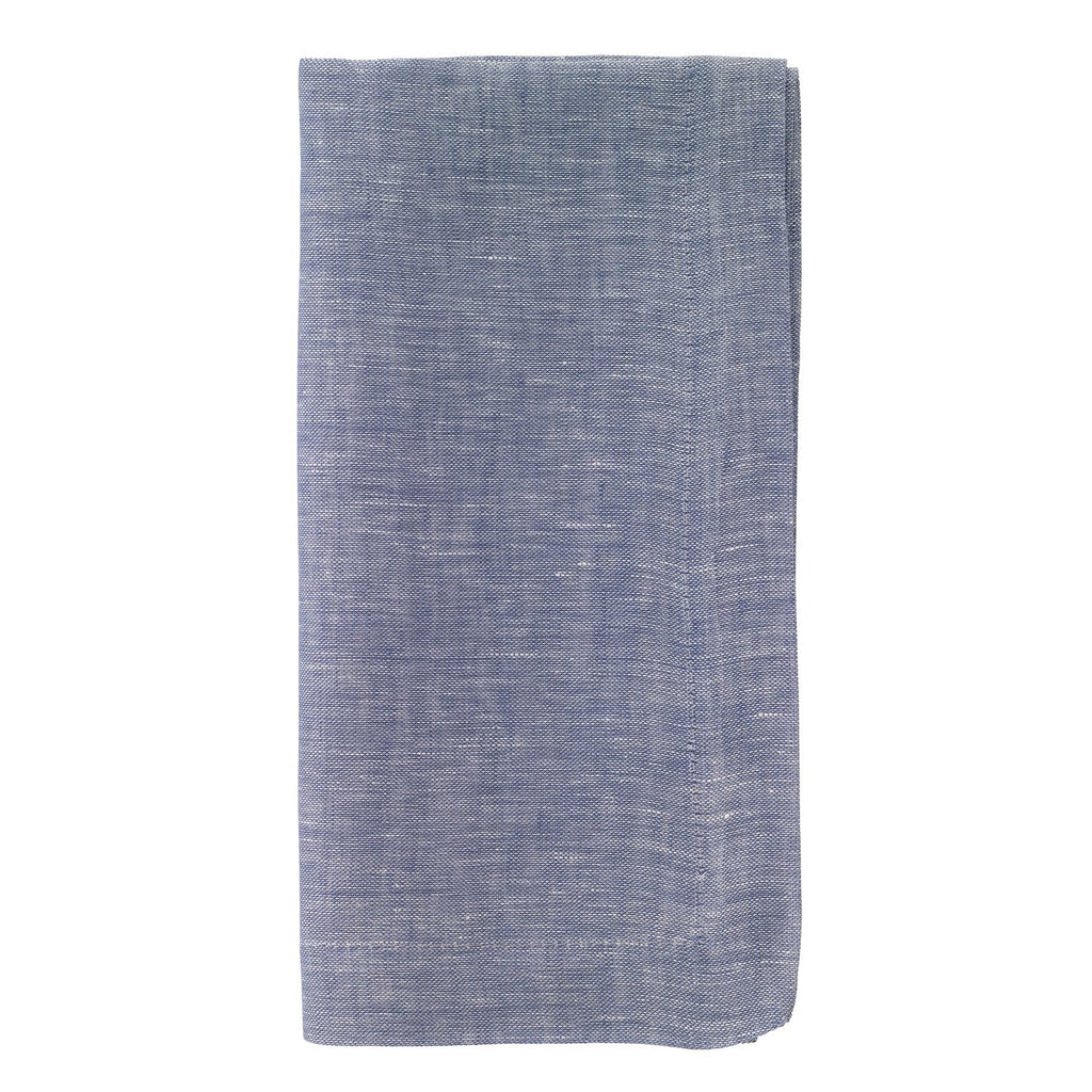 Chambray Bluebell Dinner Napkin
