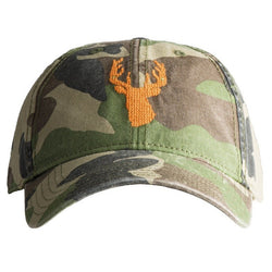 Camo Stag Needlepoint Hat - Waiting On Martha