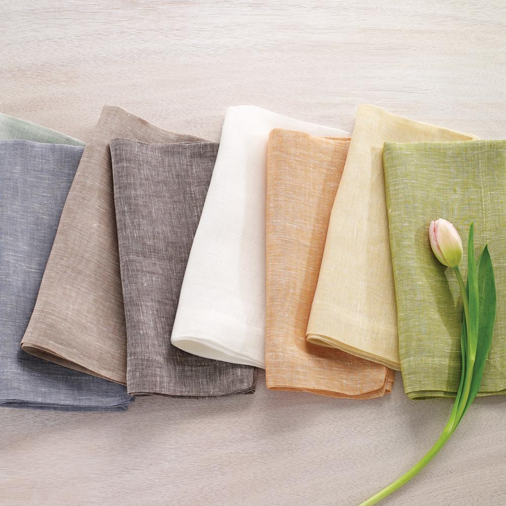 Chambray Fern Dinner Napkin