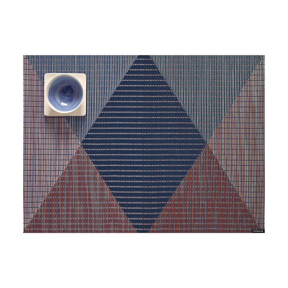 Chilewich Signal Rectangle Table Mat, Twilight