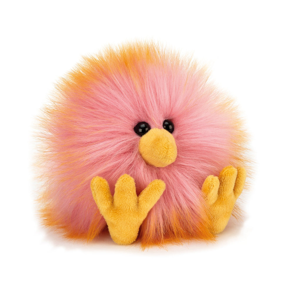 Jellycat Crazy Chick, Pink & Orange