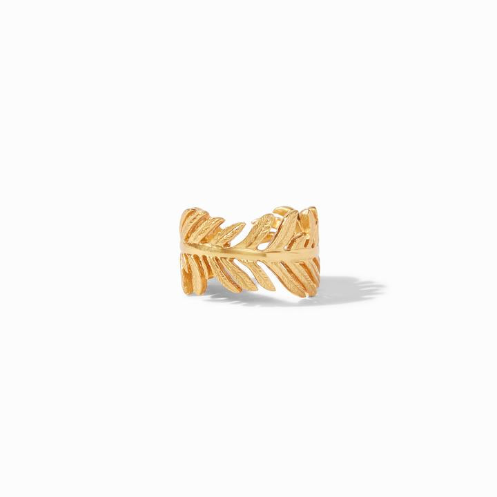 Julie Vos Gold Fern Ring