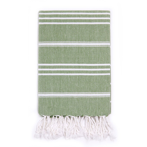 Turkish T Classic Hand Towel - Grass Green