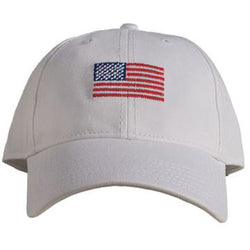 Needlepoint American Flag Hat - Waiting On Martha - 1