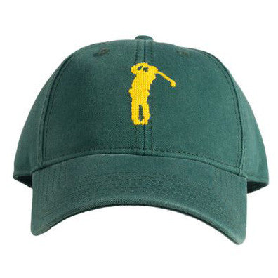 Needlepoint Golfer Hat - Waiting On Martha - 1