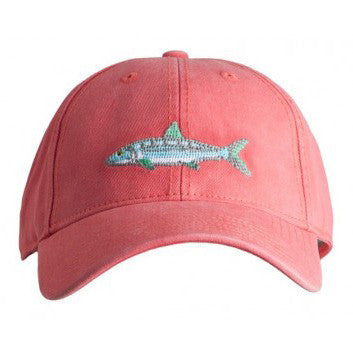 Needlepoint Bonefish Hat - Waiting On Martha