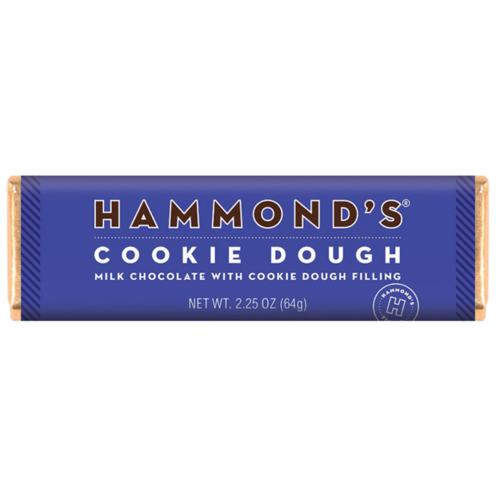 Hammond's Cookie Dough Milk Chocolate Candy Bar
